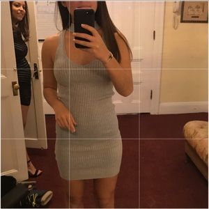 LF Grey Mini Dress